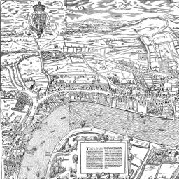Agas Map Of London British History Online - London map historical