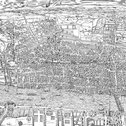 Map Of London 1600.Agas Map Of London 1561 British History Online