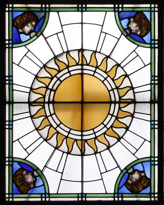 Russell-Cotes Museums stained glass - Image by Richard Ridge