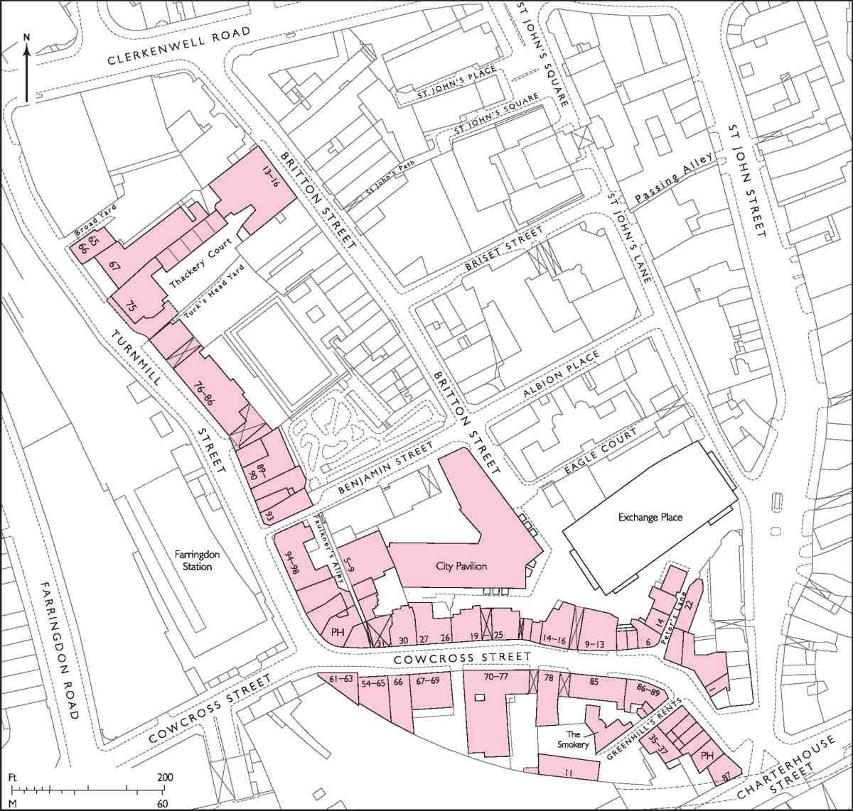 cowcross street and turnmill street british history online Hard Wood Floor chapter vii cowcross street and turnmill street