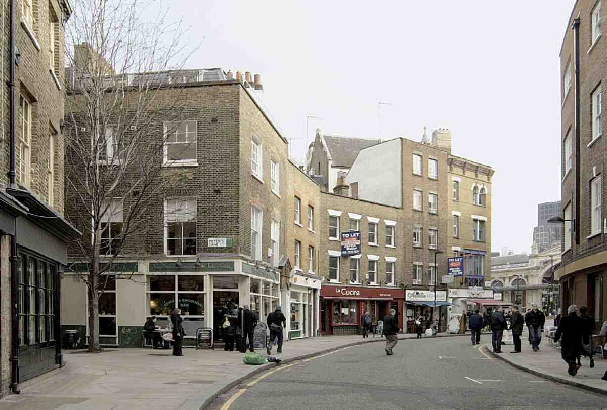 Cowcross Street And Turnmill Street British History Online