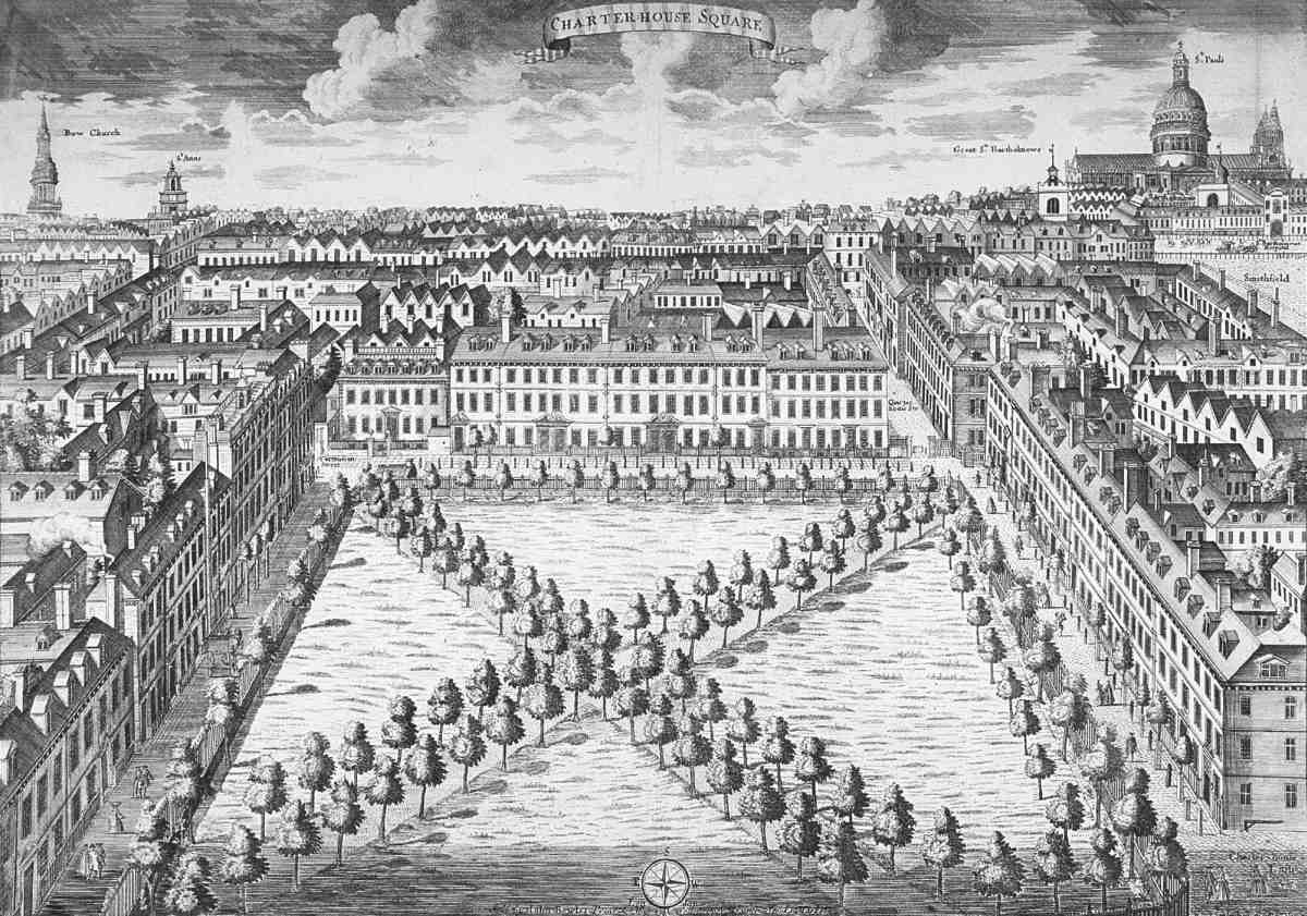 Charterhouse Square Area: Introduction; Charterhouse Square | British  History Online Part 37