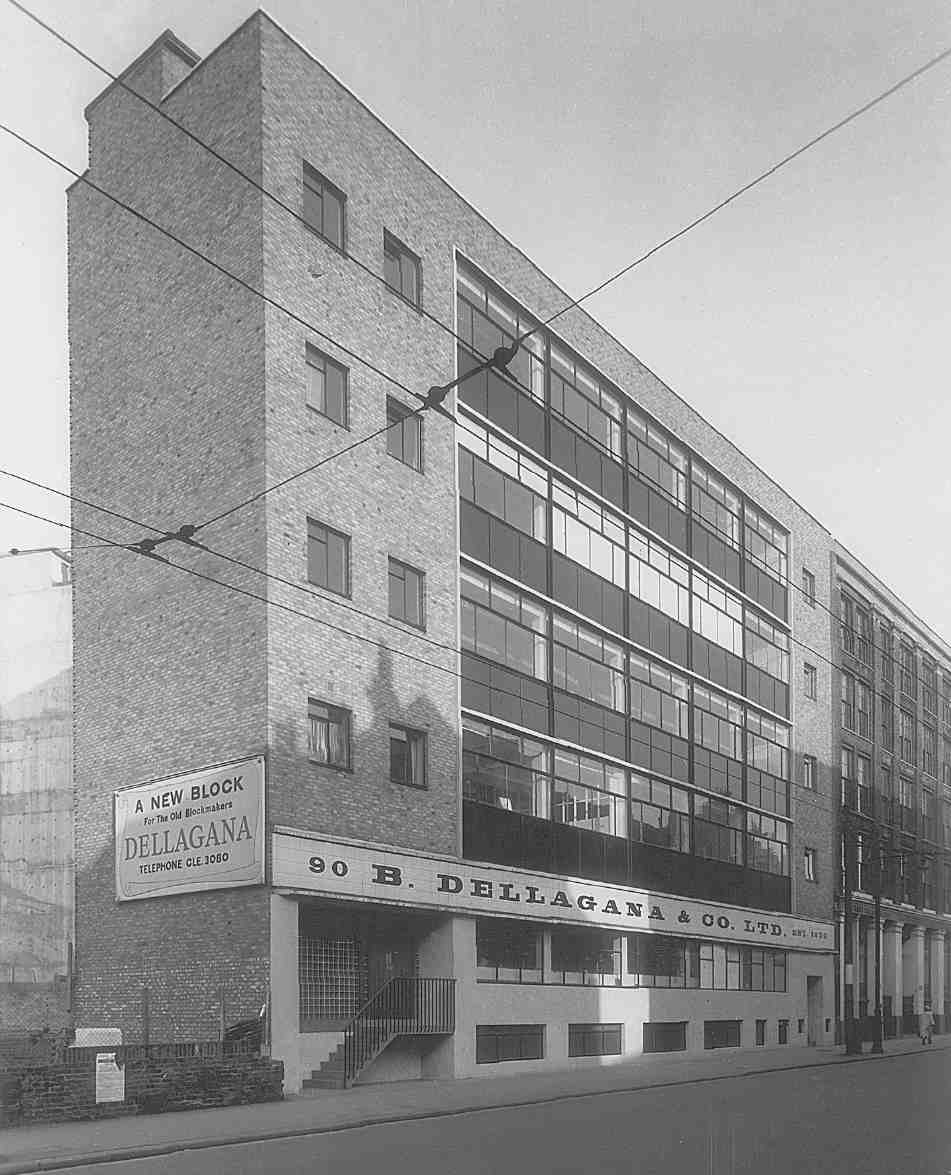 Nos 90 94 Clerkenwell Road Newly Completed In 1957