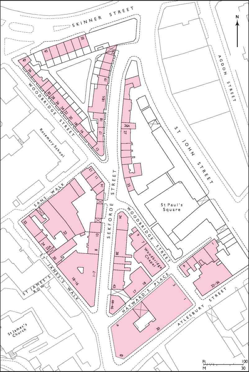 Sekforde Street area | British History Online