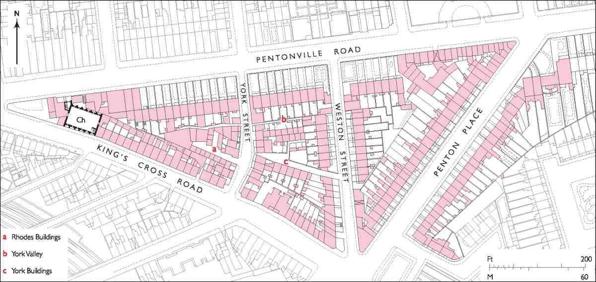 King's Cross Road and Penton Rise area | British History