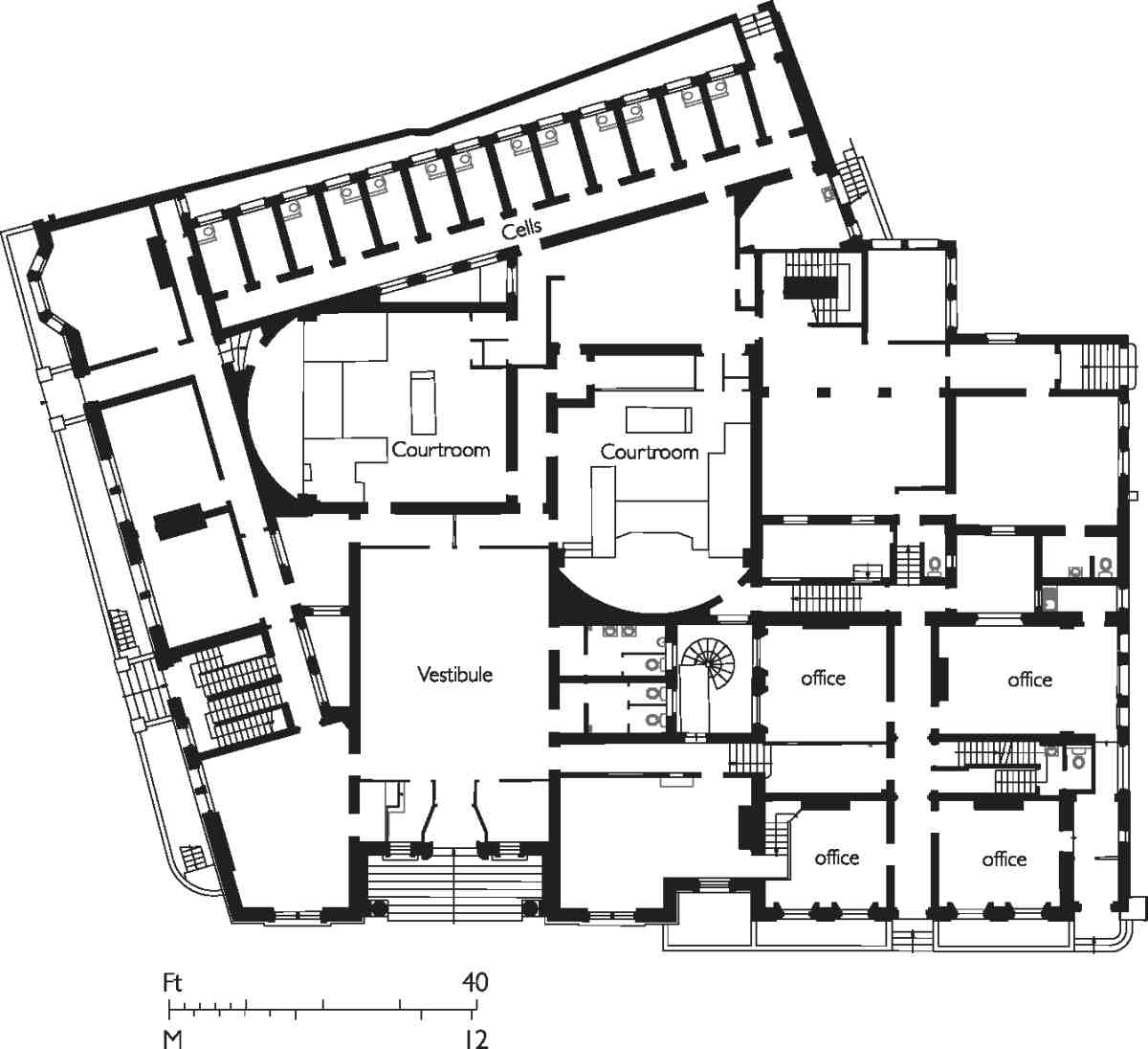 King 39 s cross road and penton rise area british history for 125 court street floor plans
