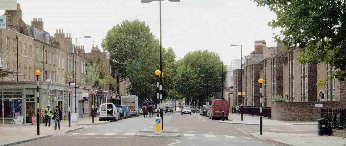Penton Street Looking South In 2007