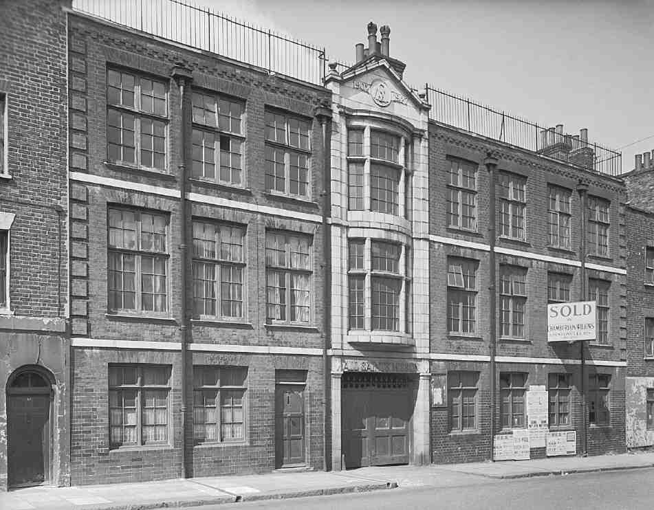 Penton street and chapel market area british history online for Alma terrace york