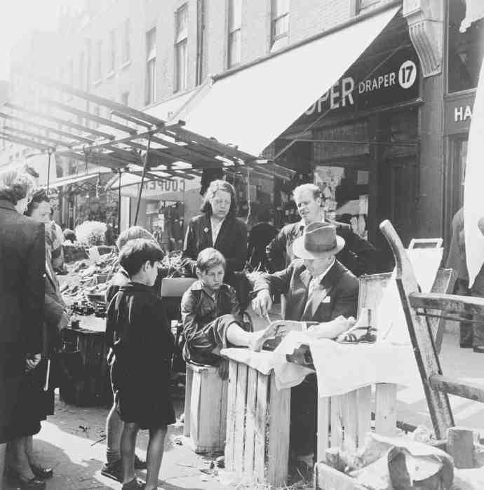 18 Chapel Market In 1955
