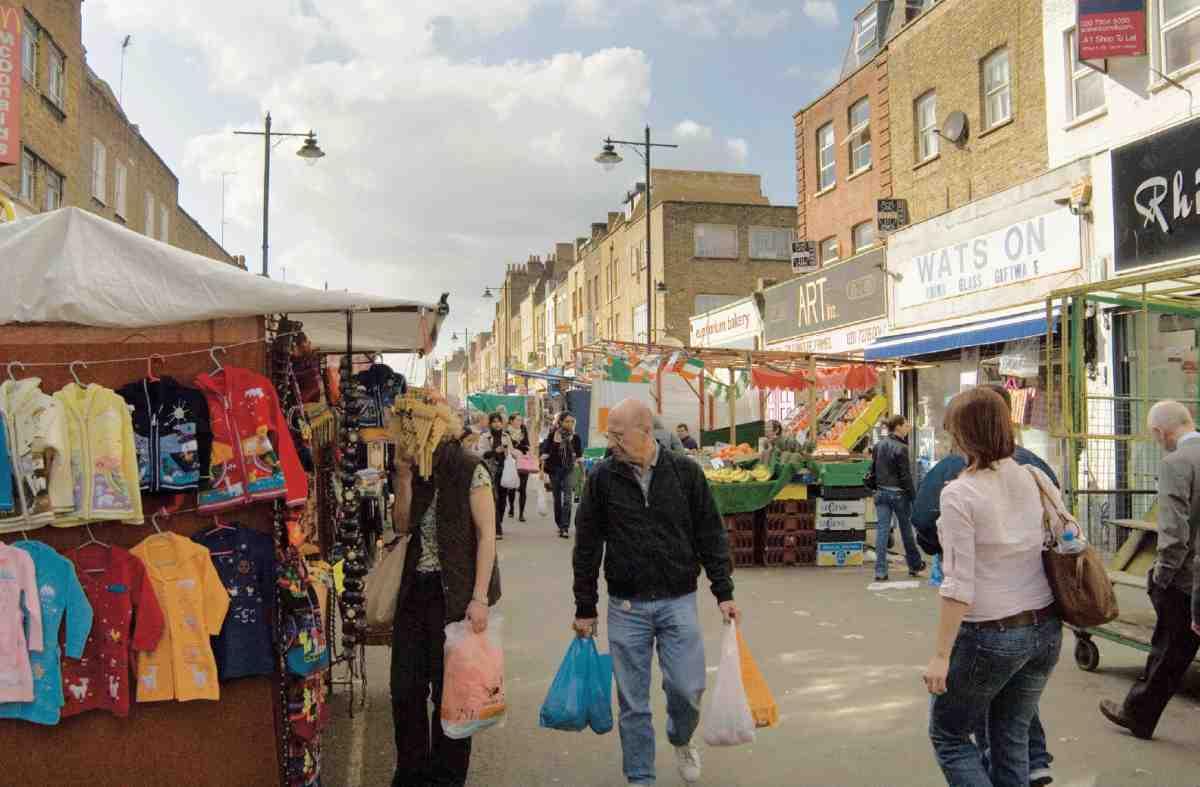 Penton Street And Chapel Market Area