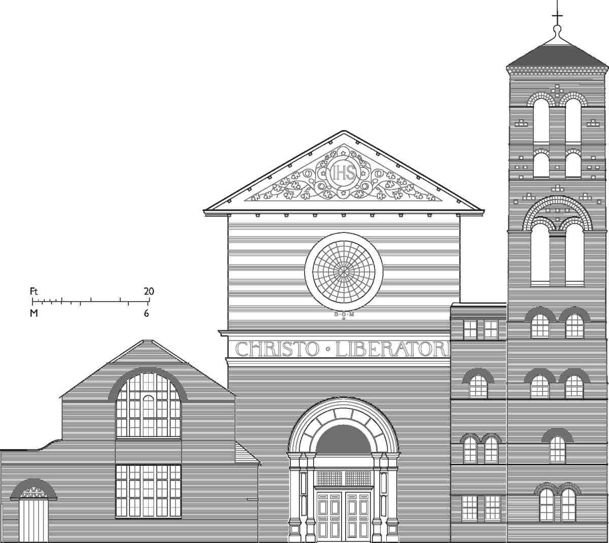 Sample Front Elevation Church : Exmouth market area british history online