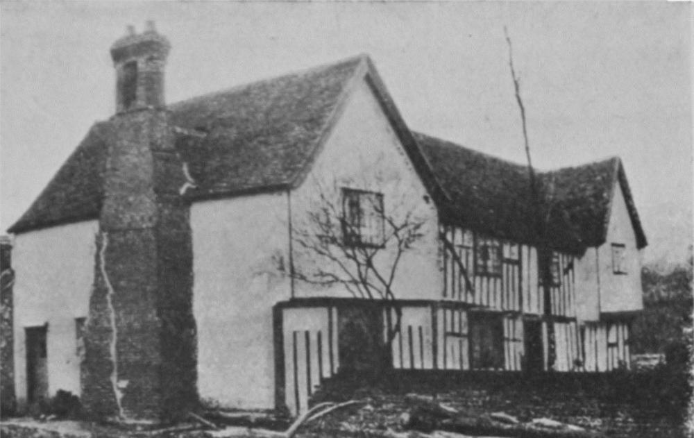 Plate 2 Houses With Exposed Timber Framing British