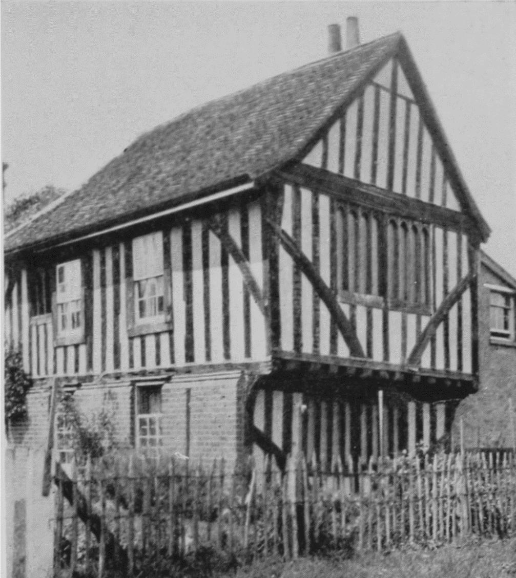 Plate 5: House with Exposed Timber-Framing | British History Online