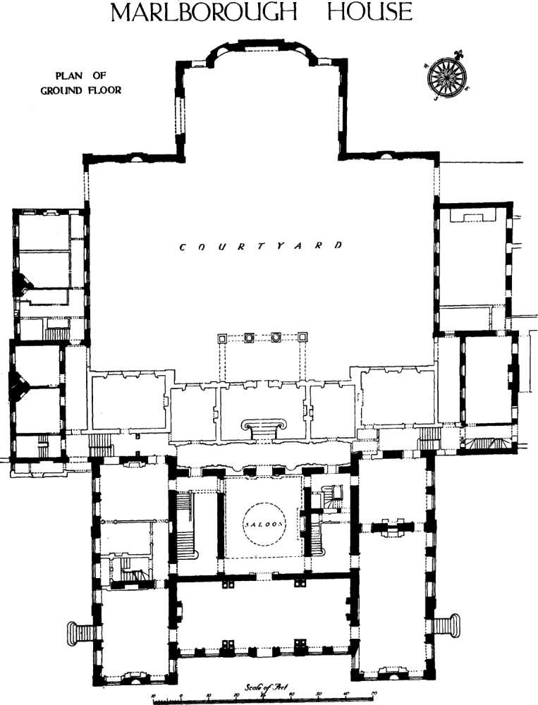 Westminster – Marlborough House Floor Plan