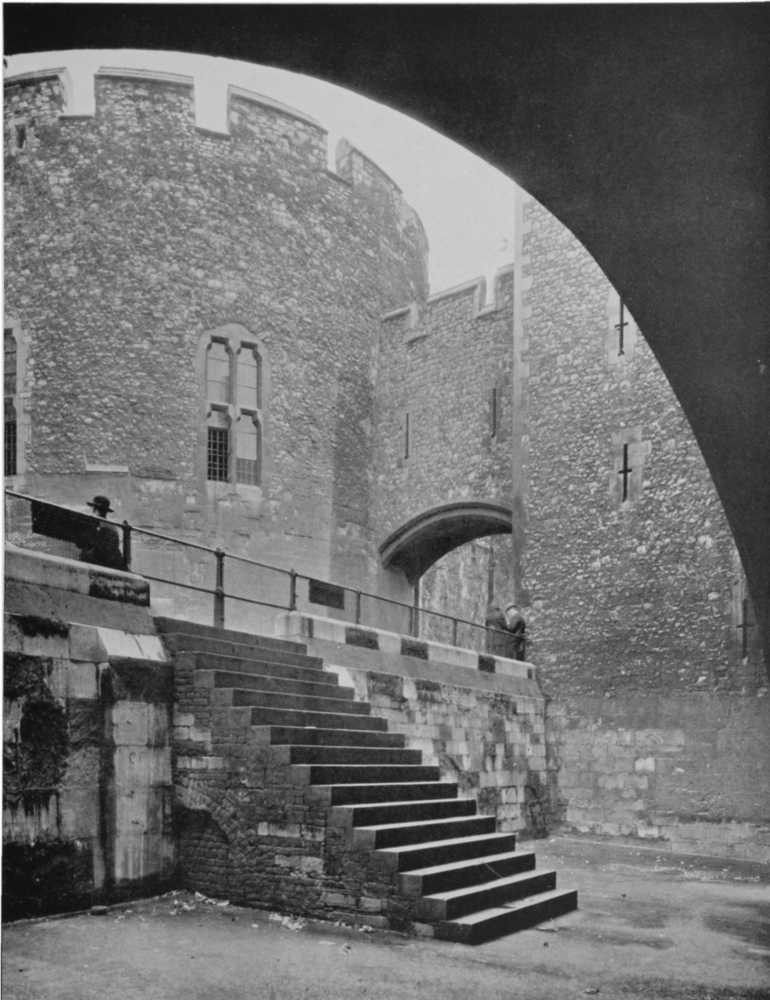 plate 145  stepney  the tower of london  the wakefield