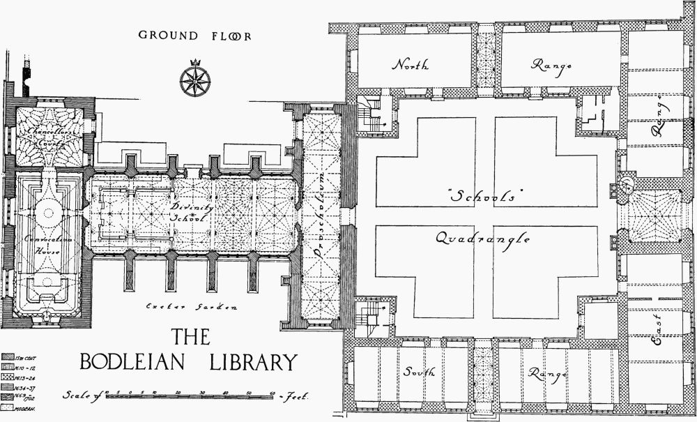 Bodleian library british history online for Oxford floor plan