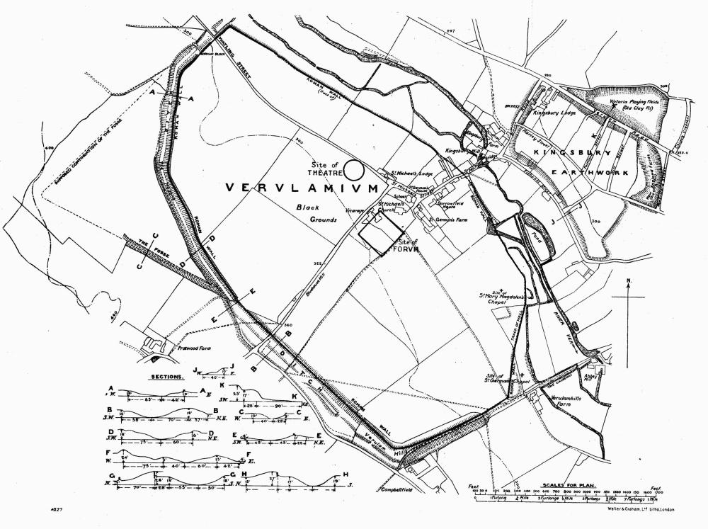 Plan 2 Verulamium British History Online