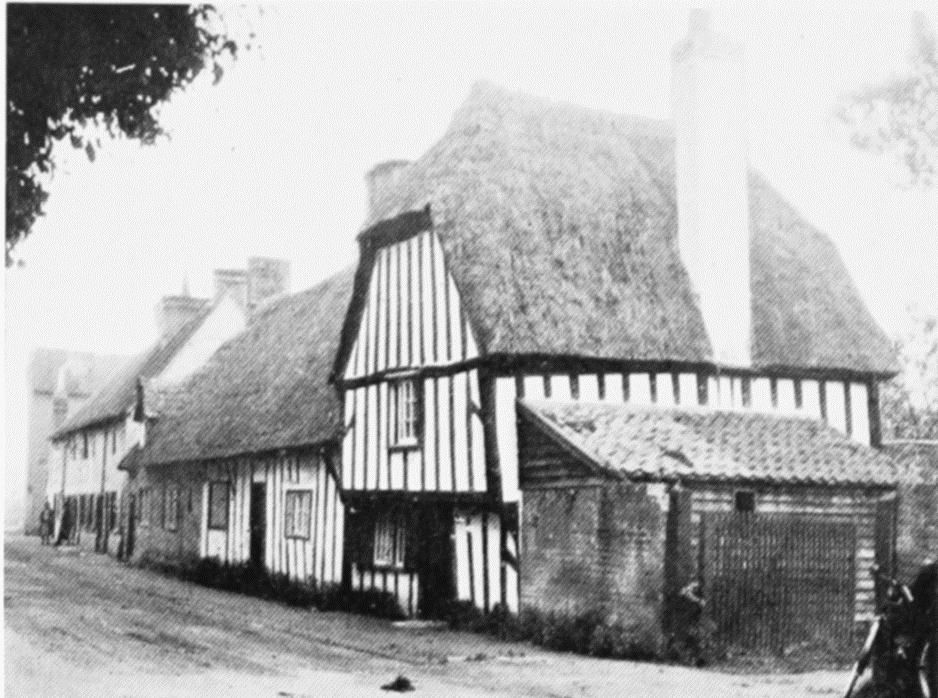 Plate 163: Houses with Exposed Timber-Framing | British History Online