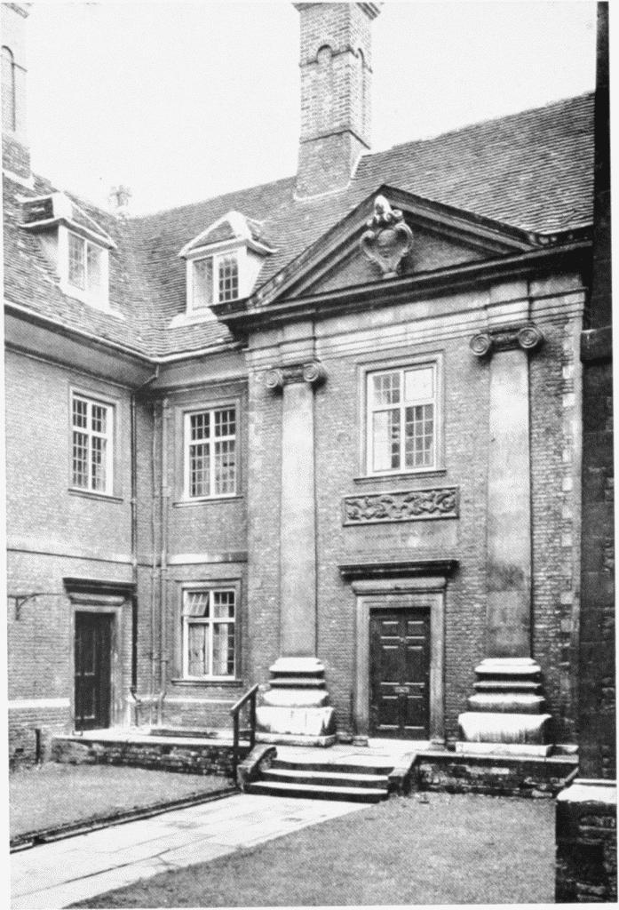 Plate 212: Trinity College  Pembroke College | British History Online