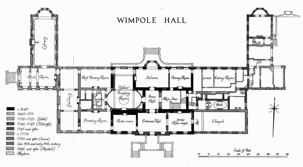 Wimpole british history online for British house plans