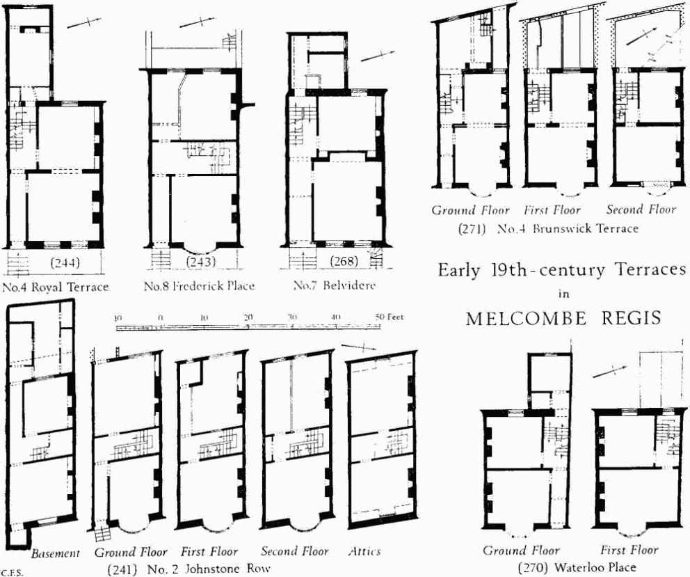 100 19th Century Floor Plans 1905 U2026the