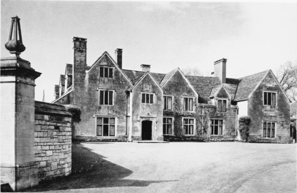 South University Online >> Plate 53: Manor Houses   British History Online