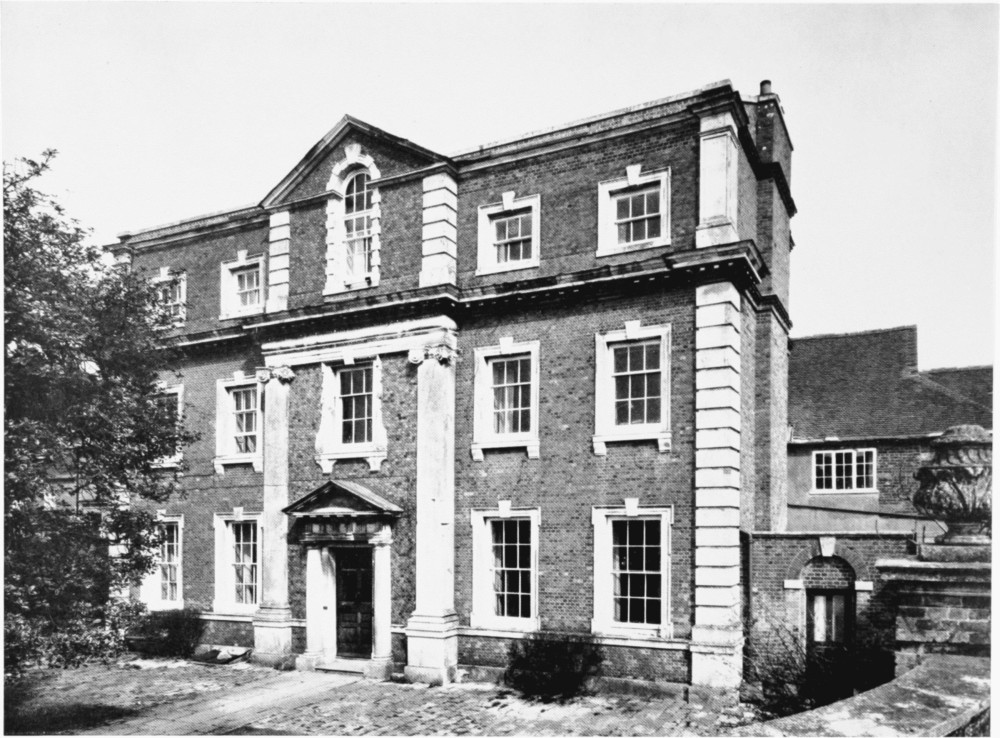 Plate 105 blandford forum coupar house exterior from s for Blandford homes