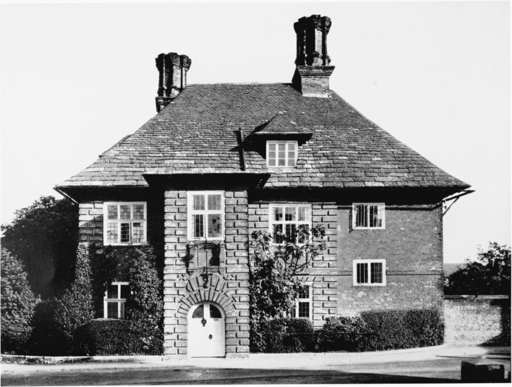 Plate 110 blandford forum the old house british for Blandford homes
