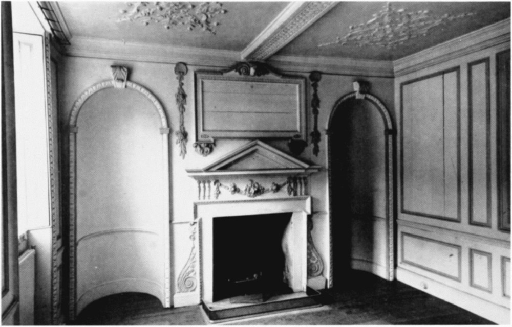 plate 116  blandford forum  house interiors