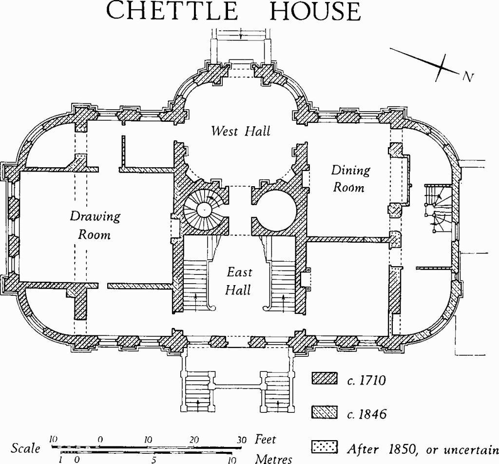 Chettle british history online for British house plans