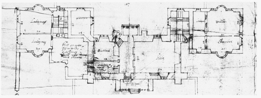 Historic English Manor House Plans