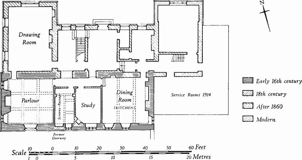 18th Century English Manor House Plans