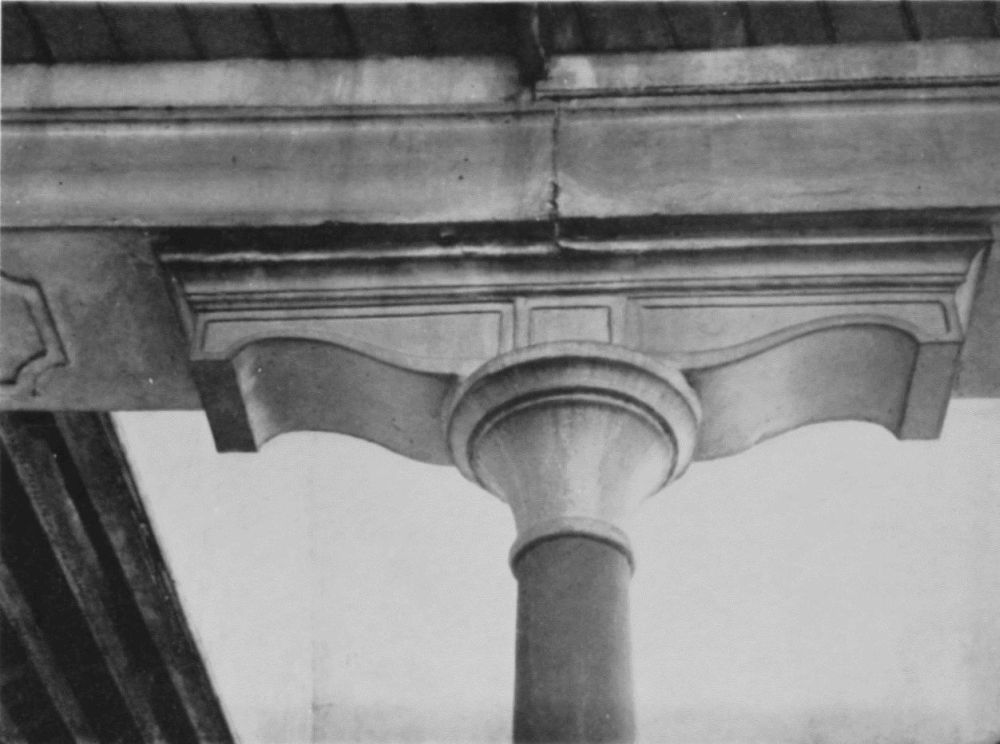 Cast Iron Columns : Plate old railway station details of cast iron
