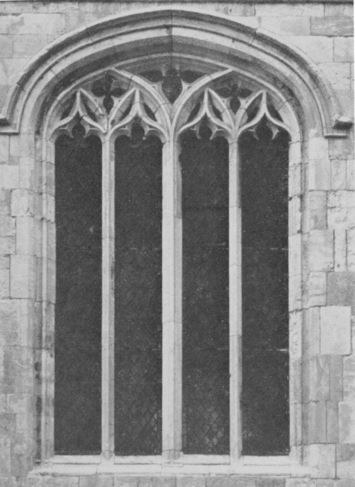 plate 25  church windows  14th  15th and 16th