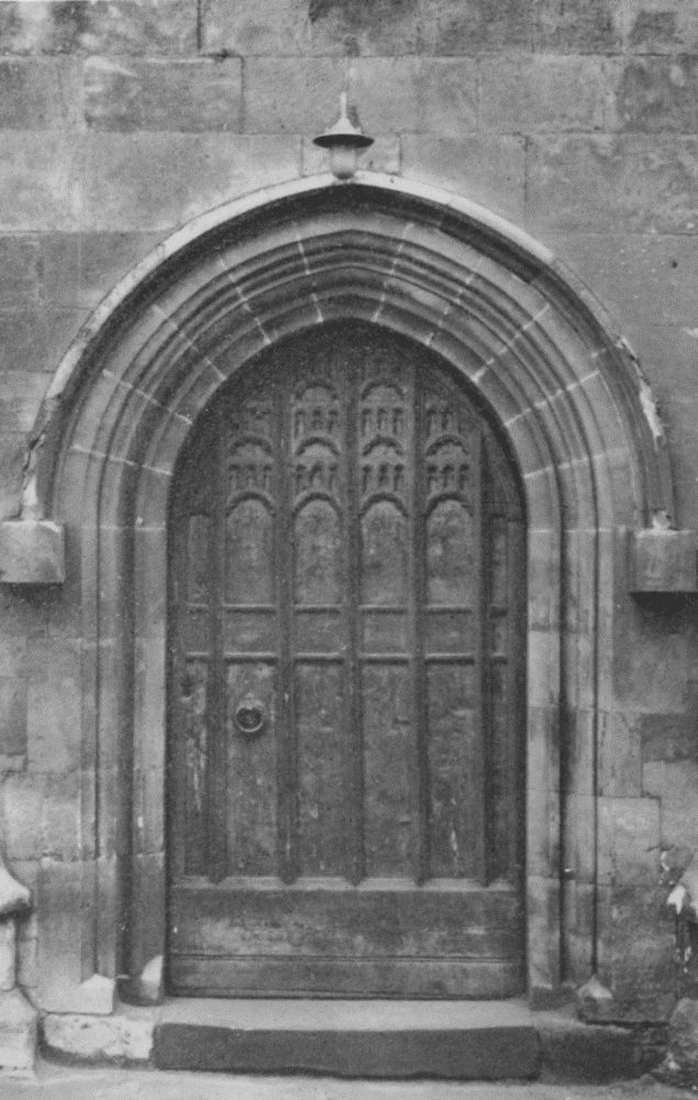 Plate 26 Church Doors And Doorways 12th And 15th Century