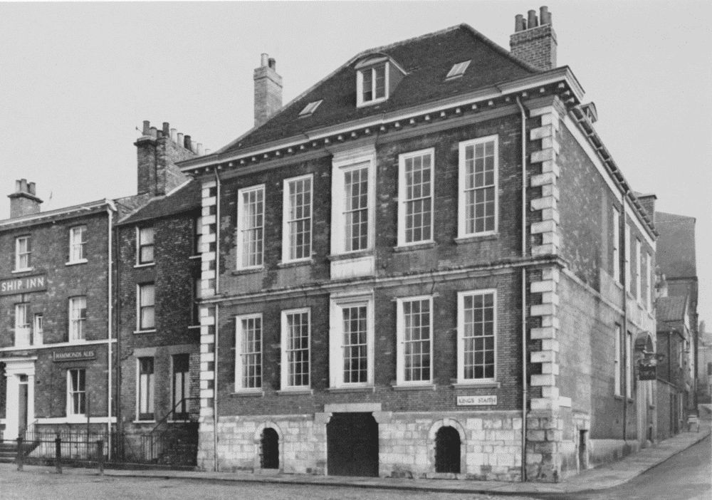 18Th Century House plate 138: 18th-century houses, cumberland house and oliver