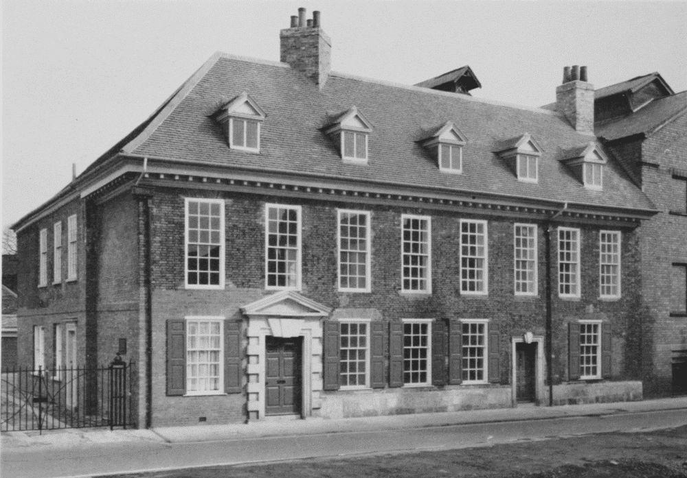 (61) Oliver Sheldon House, Nos. 17, 19 Aldwark. c. 1720.