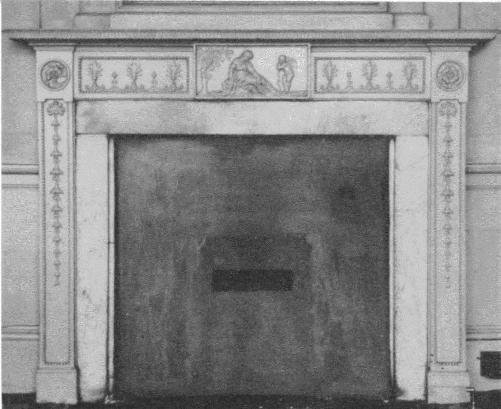 First Floor Back Room. C. 1800.