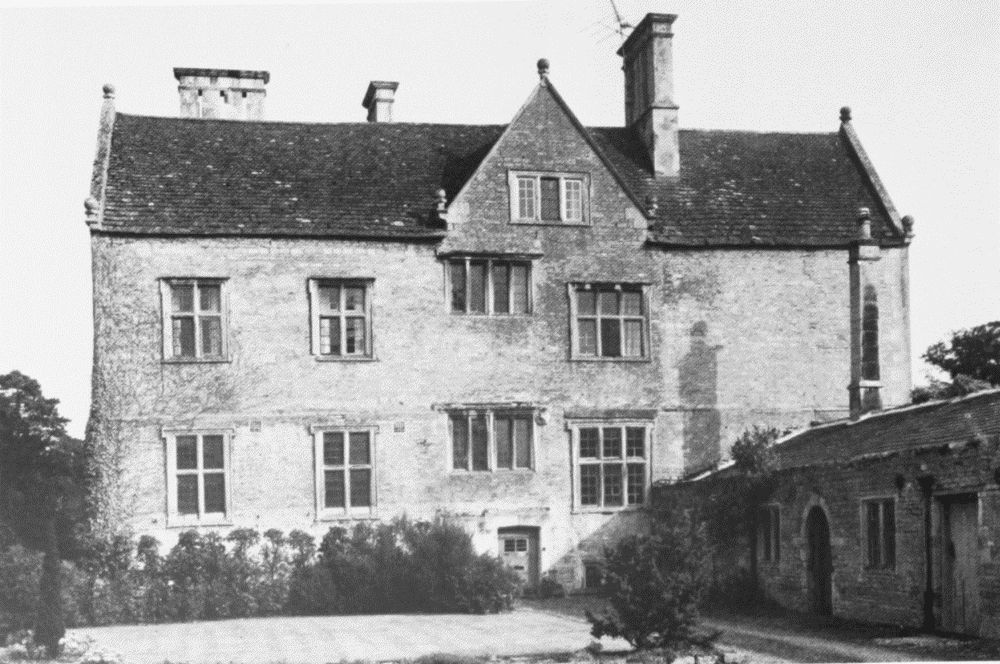 Colonial Front Elevation : Plate mid th century house british history online