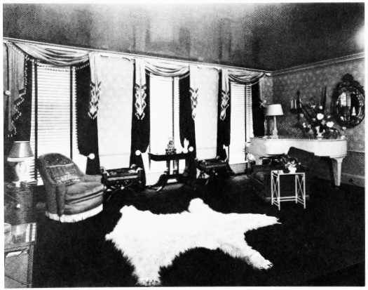 C No 25 South Street Sitting Room In 1937