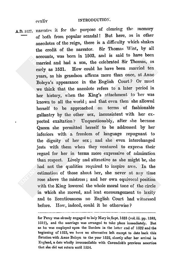 Anne boleyn research paper