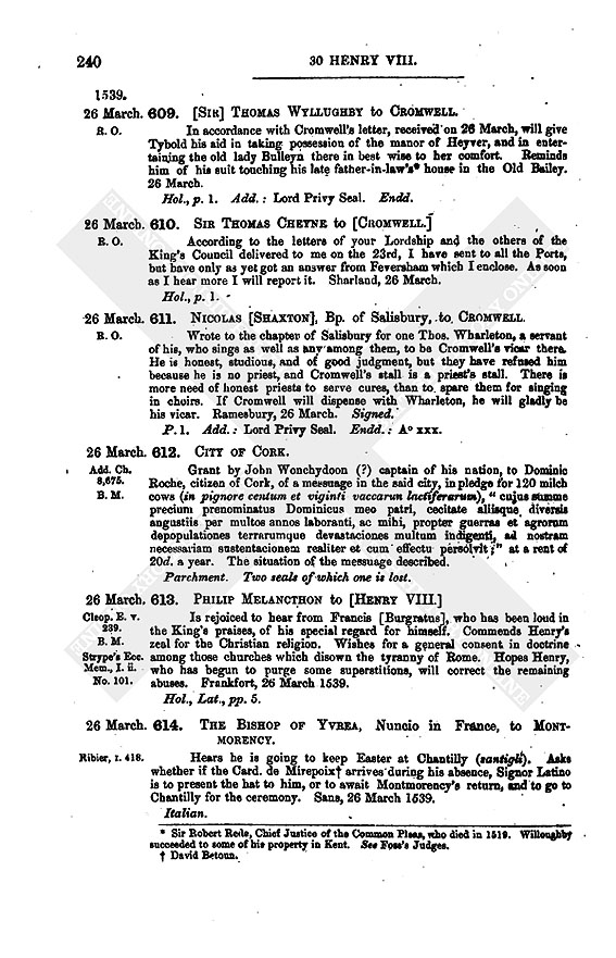 0856arabic_0240 letters and papers march 1539, 26 31 british history online