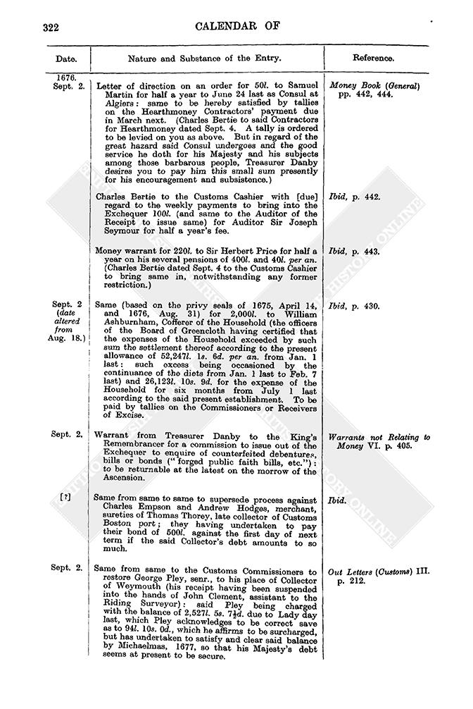 4fd80cf66 Entry Book: September 1676   British History Online