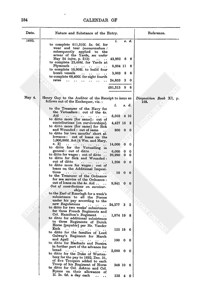 Entry Book May 1693 1 10