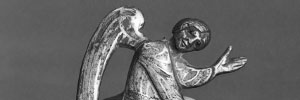 Pewter angel - Courtesy Walters Art Museum