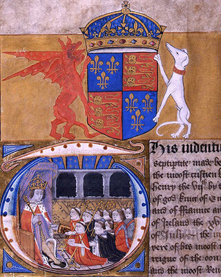 Royal charity performance (1504) - Image courtesy The National Archives